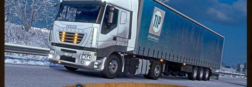 Iveco Stralis 430 + Trailer Shtornik Tip