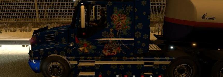 Iveco Strator Christmas Skin 1.22.x