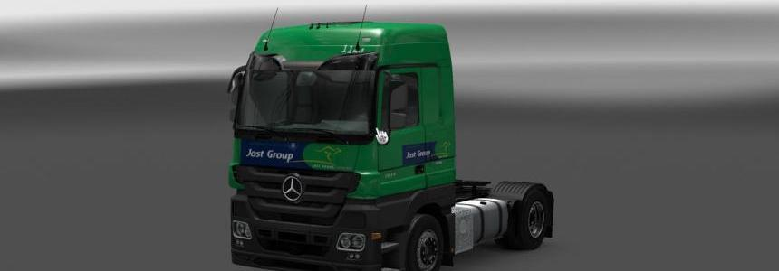 Jost Group Mercedes Euro 5 (MP3) 1.22