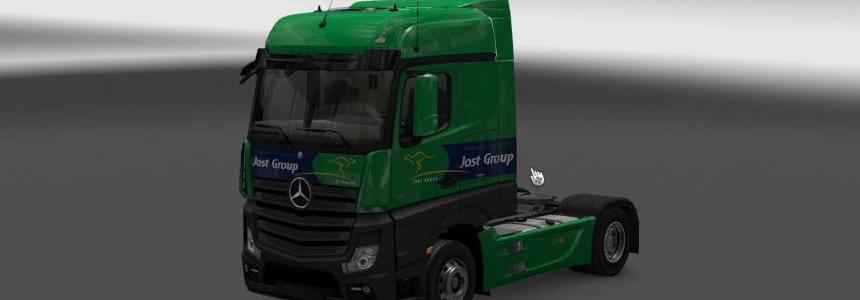 Jost Group Mercedes MP4 (Euro 6) 1.22.x