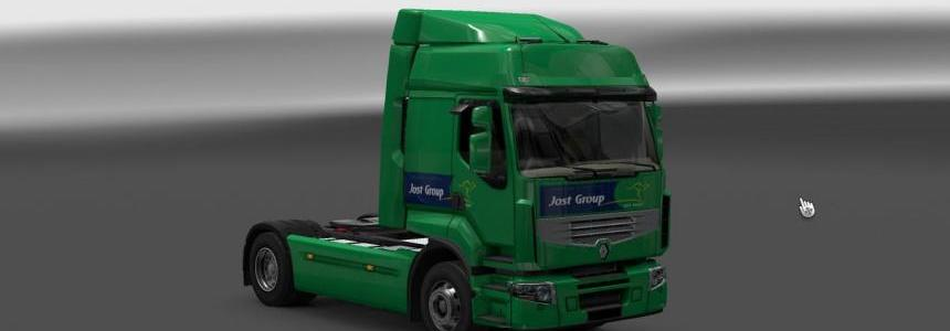 Jost Group Renault Premium 1.22
