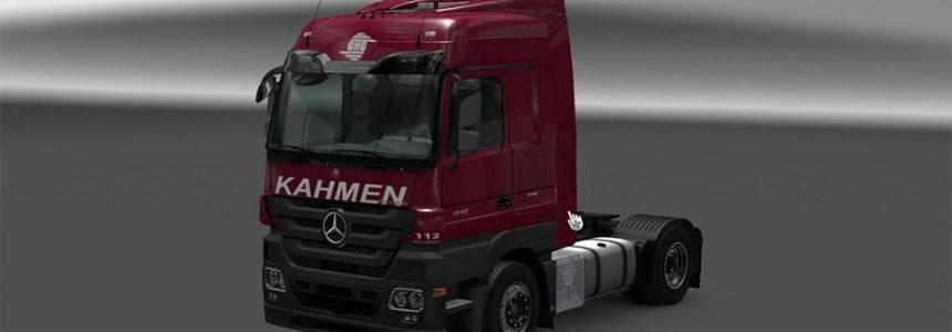 Kahmen Trans Cargo MP3 skin