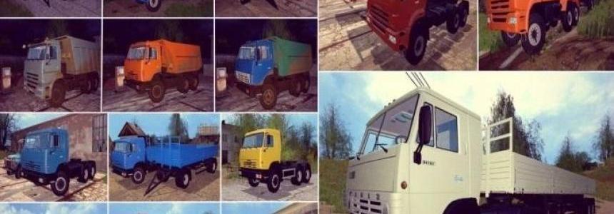 Kamaz Trucks Pack v1.0