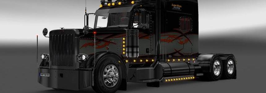 Long Haul 1 Ets2 Viper2 Modified Peterbilt 389