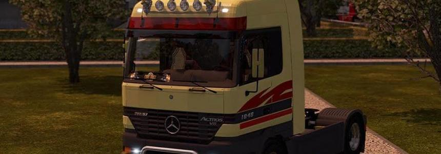 M.B. Actros MP1 edited by Solaris36
