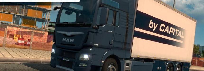 MAN TGX Euro6 Tandem v3.0