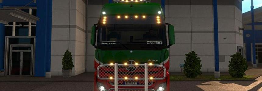 Mercedes Actros 2014 Light Plus Multiplayer ready v2.0