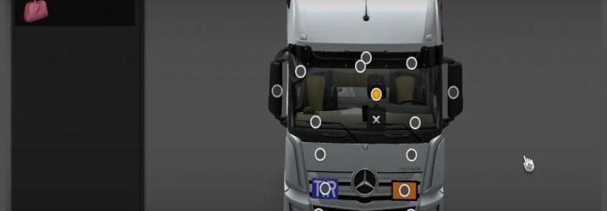 Mercedes Actros 2014 Mega-Mod 1.22
