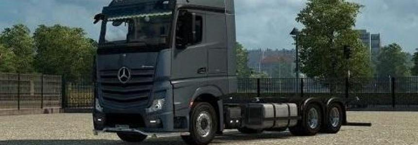 Mercedes Actros MP4 BDF empty Chassis