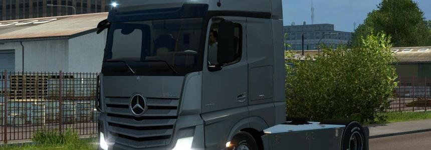 Mercedes Benz New Actros Rework v1.0
