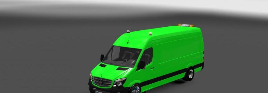 Mercedes Sprinter Long 2015 Beta V0.8