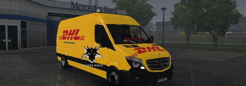 Mercedes Sprinter Long 2015 v0.5 BETA