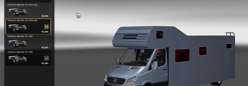 Mercedes Sprinter Mega Mod  1.1