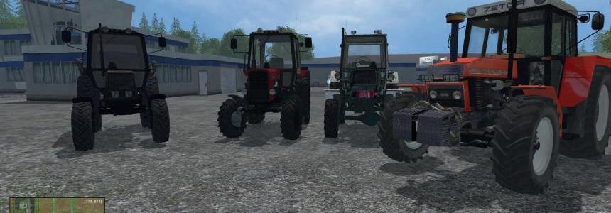 Mod Pack Tractors v1.0
