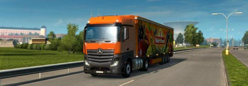 New Actros plastic parts and more v1.0
