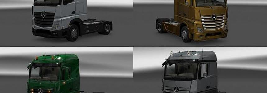 New Actros plastic parts and more v2.0