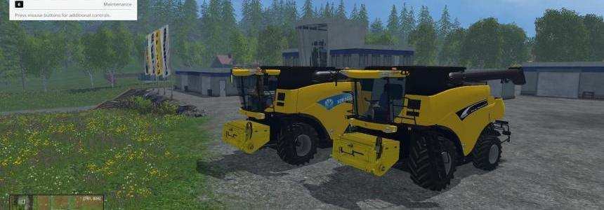 NEW HOLLAND CR9090 - 960 V1