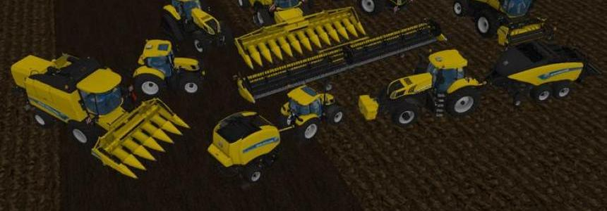 New Holland yellow Set v1.2