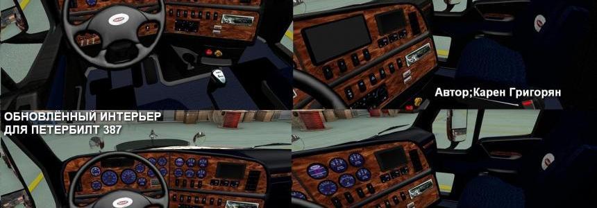 Peterbilt 387 Interior 1.22