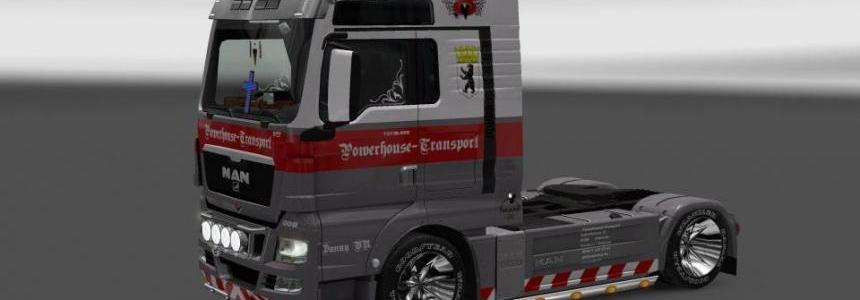 Powerhouse MAN Euro5 V8 skin