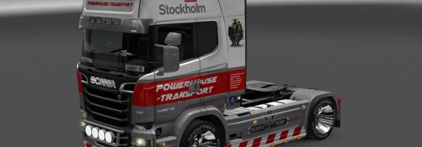 Powerhouse Scania Streamline R730 Skin