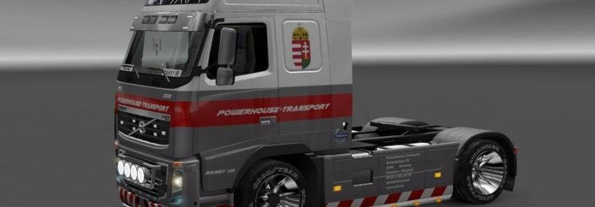 Powerhouse Volvo 2009 FH16 750HP Skin