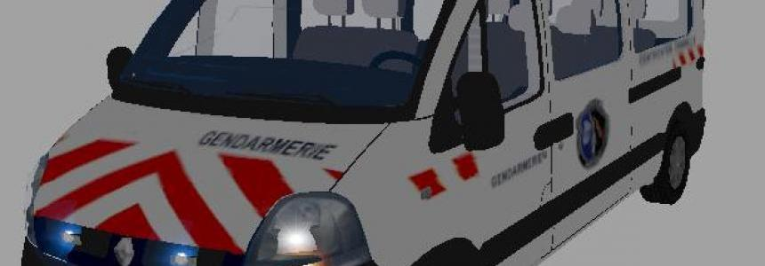 RENAULT MASTER GENDARMERIE IDENTIFICATION CRIMINELLE