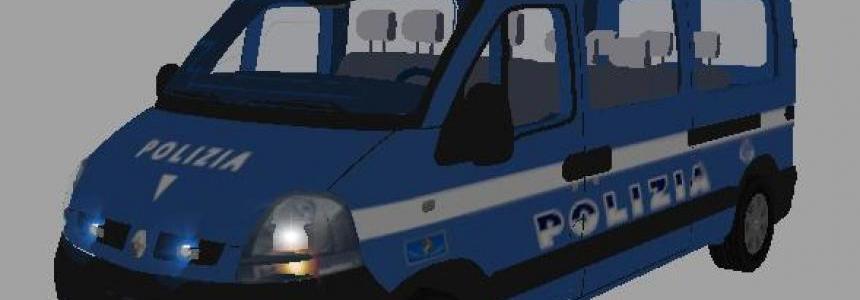 RENAULT MASTER POLIZIA TFSGROUP
