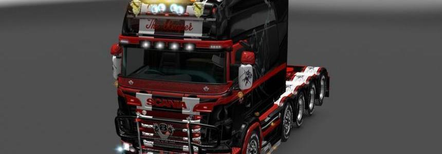 RJL's Scania T & Scania R Accessories ReMoled V8 R3.2