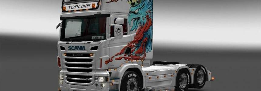 Scania Blue Griffin RJL