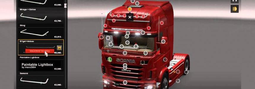 Scania Mega Tuning Mod 1.22.x