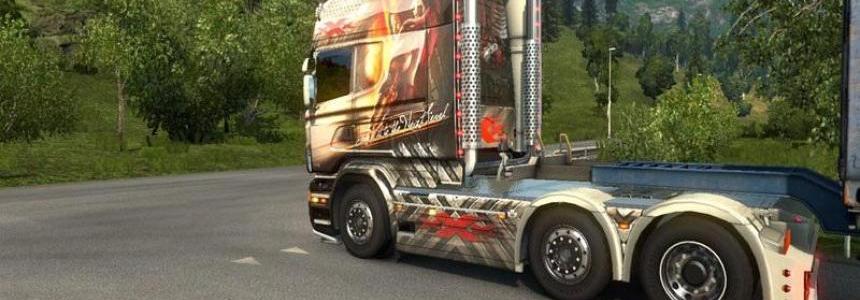 Scania Michel Kramer Trippel X Skin