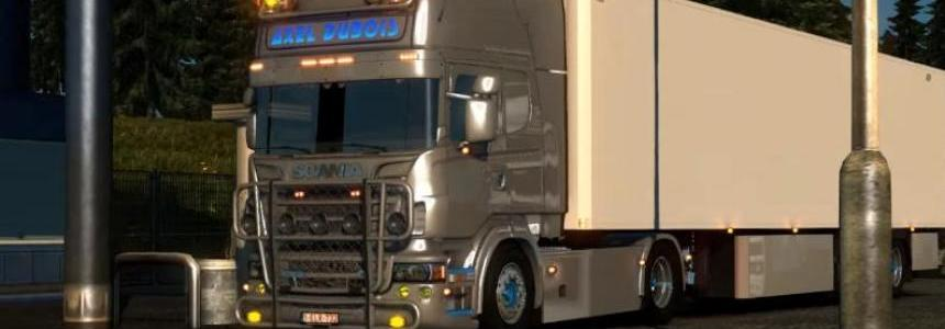 Scania + New Lamberet SR2