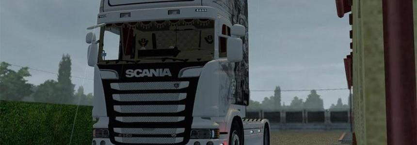 Scania R560 V8 Streamline Marines v1.0