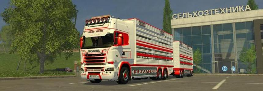 Scania R730 animal transports v1.4
