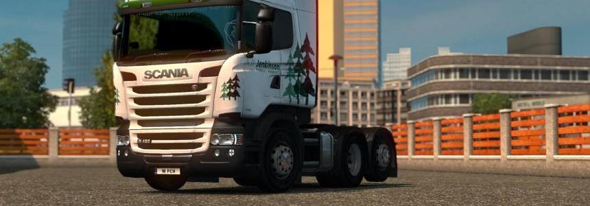 Scania RJL A.W. Jenkinson Skin