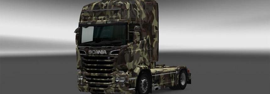 Scania RJL Army Skin