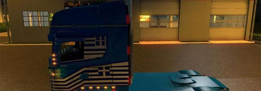 Scania RJL Greekline Skin