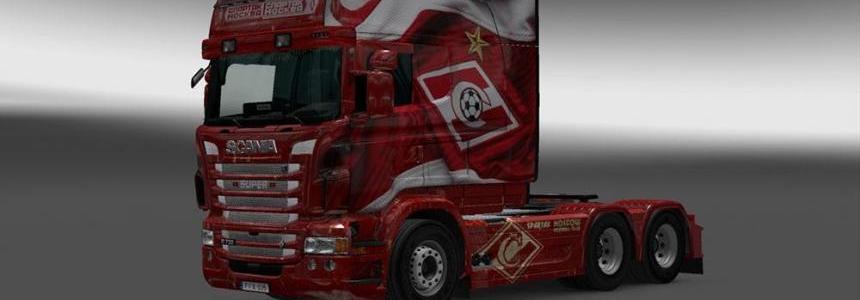 Scania RJL Spartak Skin