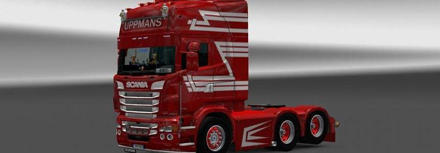 Scania RJL Uppmans Skin