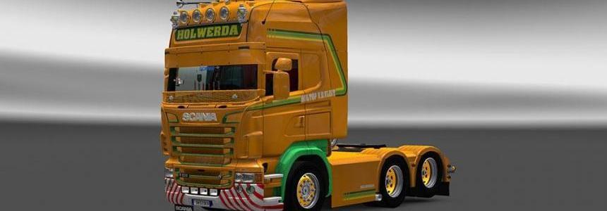 Scania RJL V.D.Vlist Skin