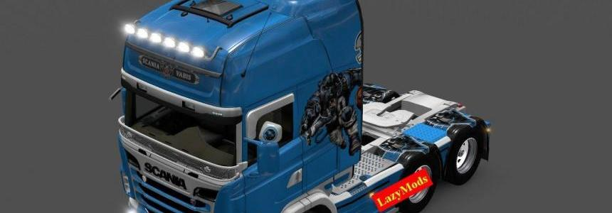 Scania RJL V8 Carolina Panthers
