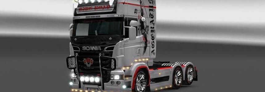 Scania RS Topline (RJL) Hip Hop Skin