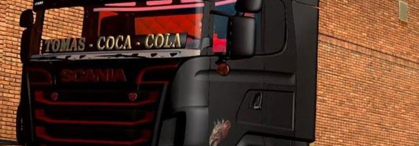 Scania Sarantos Coca Cola