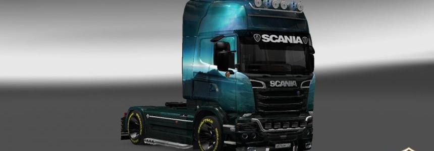 Scania Streamline Fantastic Peyzaj Skin 1.22