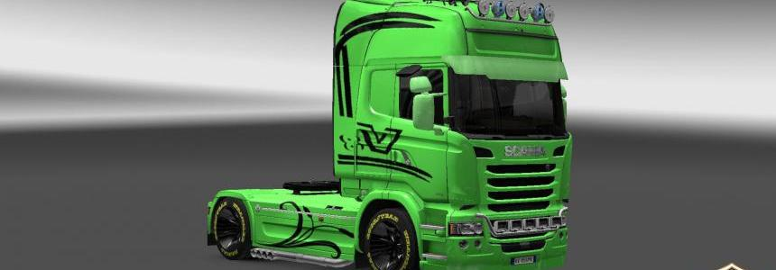 Scania Streamline Green Skin