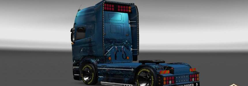 Scania Streamline Subterranean World Skin 1.22