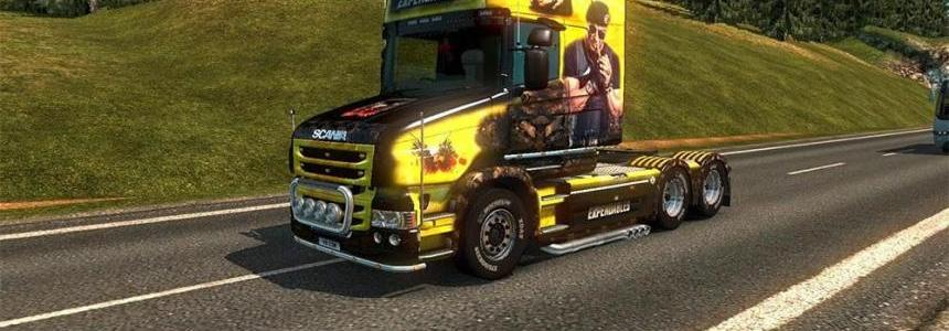 Scania T Expendables Skin