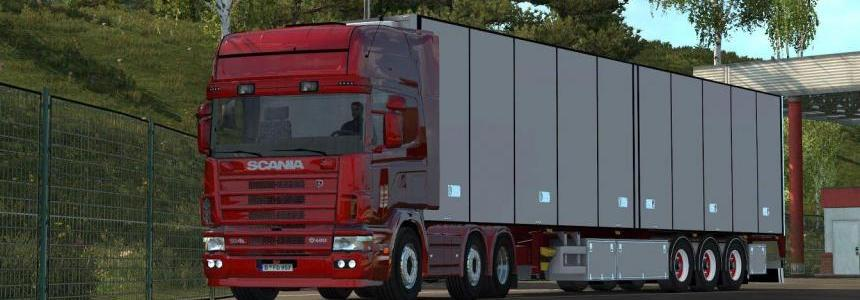 Scania V8 sound version 8.5 & L6 for 164L By Punisher