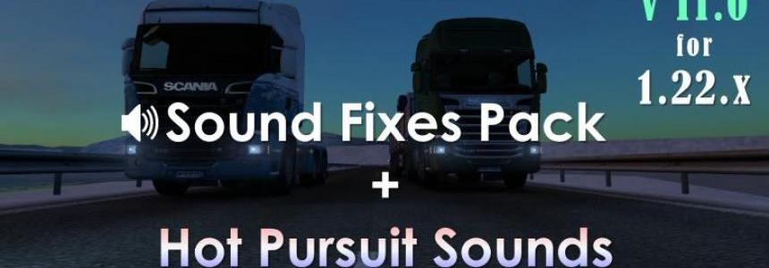 Sound Fixes Pack + Hot Pursuit Sounds v11.0